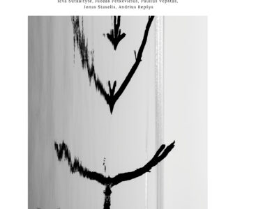 """Black and White Pop Culture Horror Halloween Poster"" kopija"