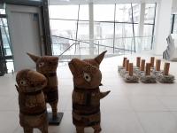 Panevėžio tarptautinių keramikos simpoziumų ekspozicija